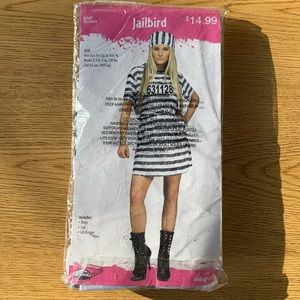 NWT Jailbird costume- one size